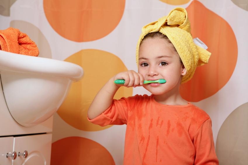 แปรงสีฟันเด็ก